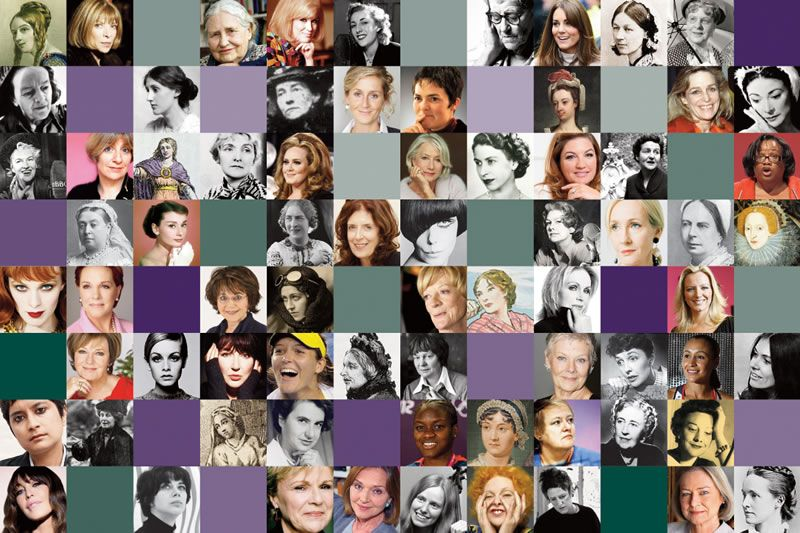 An image of many famous women in our industry