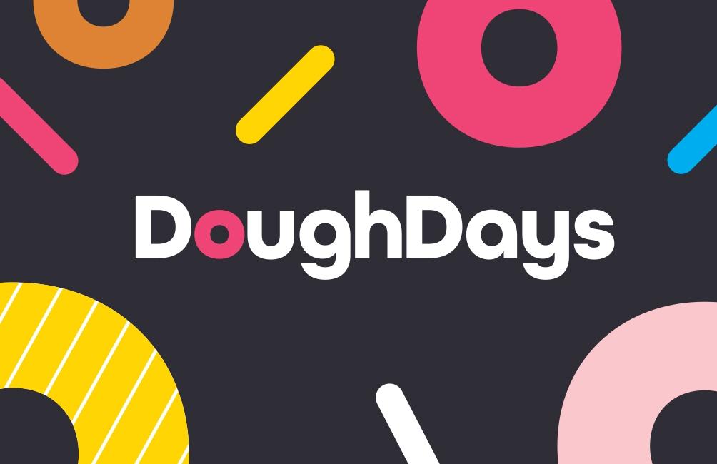 Doughdays logo design