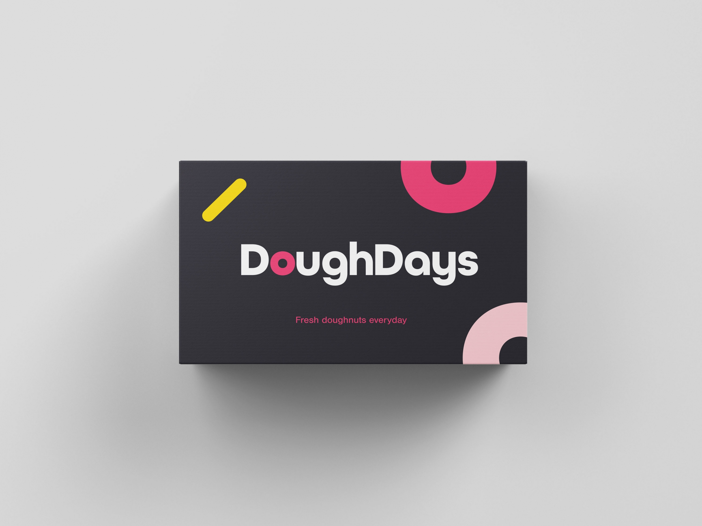 Doughdays business card design