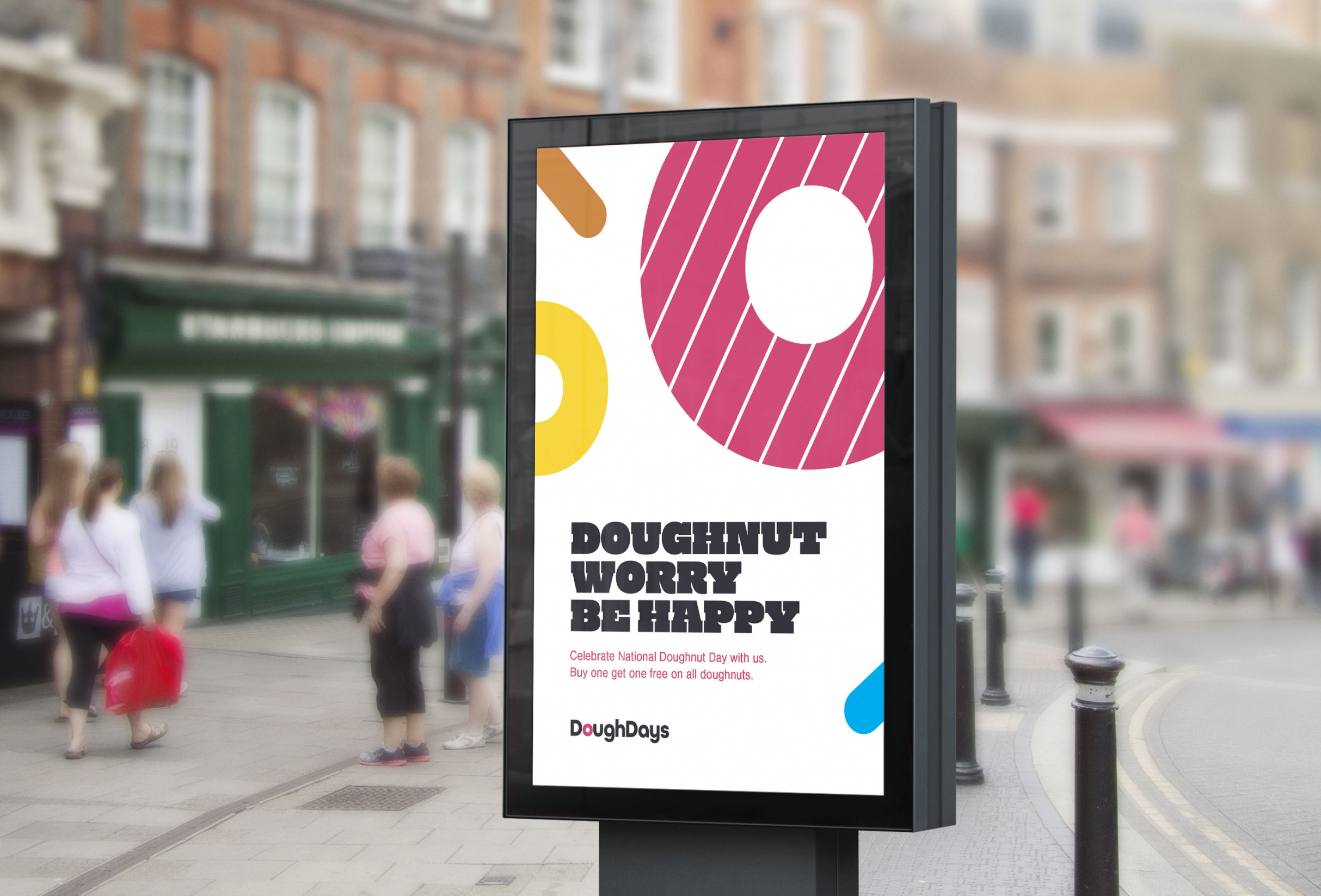 Doughdays advert design