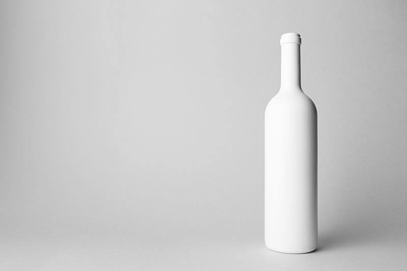 A photo of a bottle of wine
