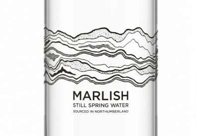 Marlish Water label on bottle